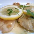 鶏胸肉のソテー、レモンソース