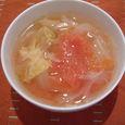 トマト・白菜・たまねぎのスープ