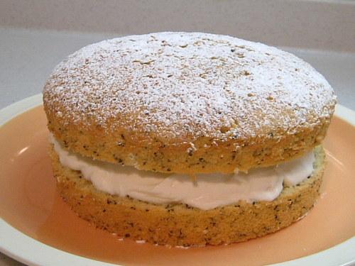 紅茶のクリームバターケーキ