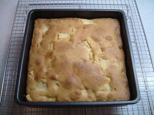 りんごのカントリーケーキ